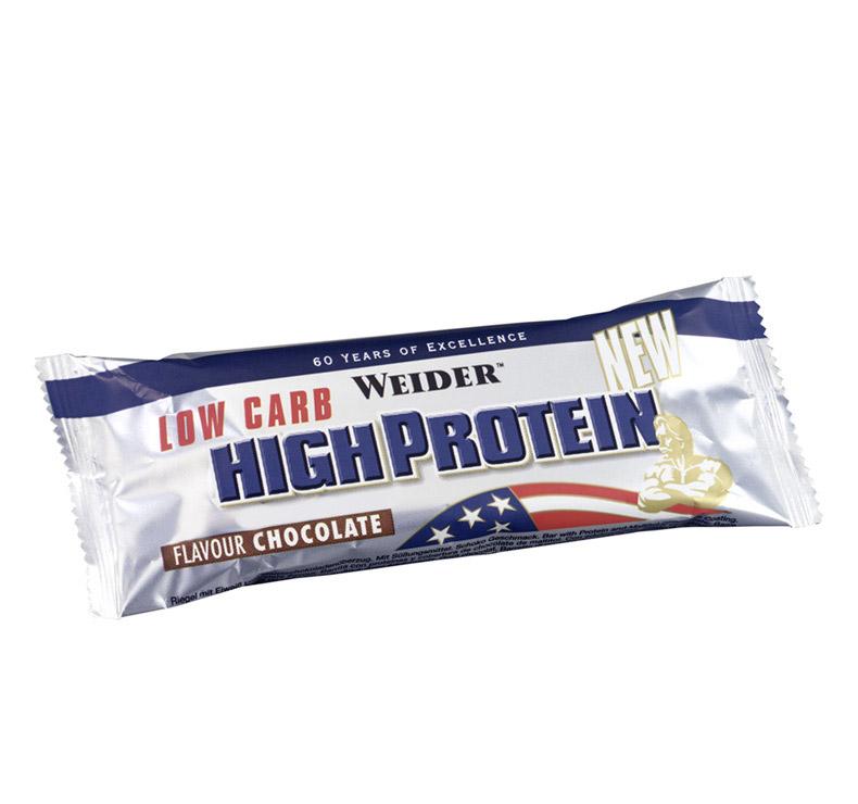 ed4639de04f Weider Nutrition 40% High Protein Low Carb Bar - 50gr chocolate ...
