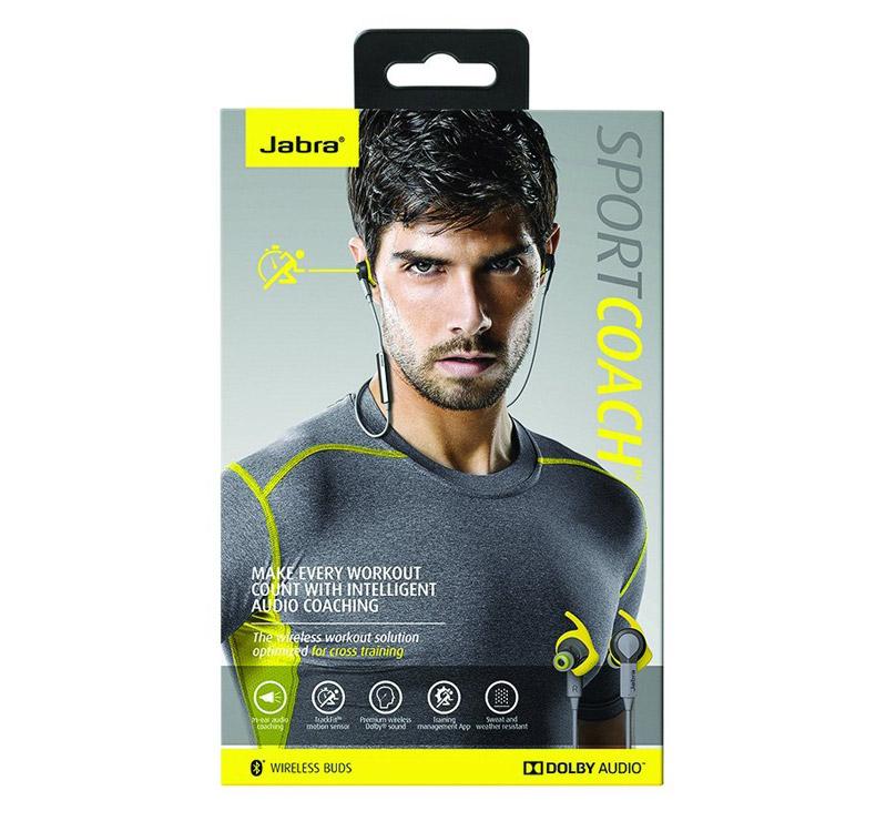 Jabra Sport Coach Yellow Earbuds