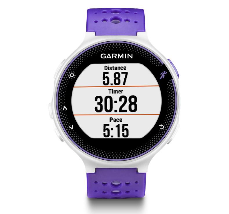 Garmin Forerunner 230 Purple White Hrm Premium Fitnessdigital
